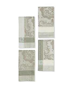 Garnier-Thiebaut Set of 4 Renaissance Napkins (Sable)