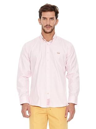 Spagnolo Camisa Villela Botón (Rosa)