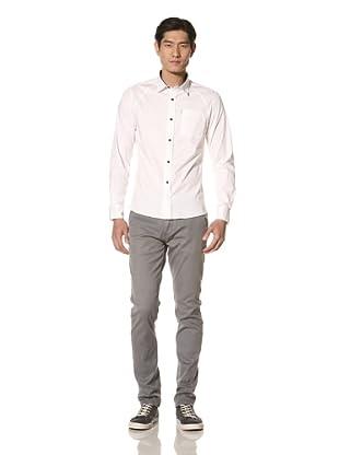 Zanerobe Men's All Day Pocket Front Shirt (White)