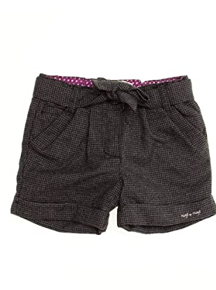 Naf Naf Chevignon Short Pata de Gallo (gris)