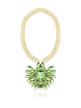 MAIOCCI Collar Dorado / Verde