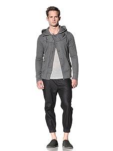Nicholas K Men's Mick Hooded Jacket (Charcoal)