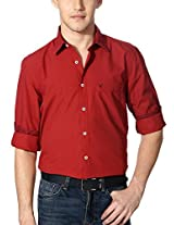 Allen Solly Solid Comfort Fit Shirt
