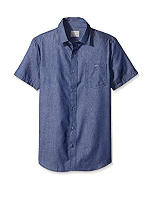 Threads 4 Thought Men's Micro Print Short Sleeve Button-Down