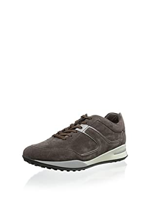 Tod's Men's Suede Sneaker (Taupe Brown)