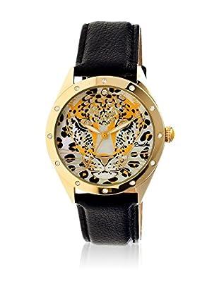 Bertha Uhr mit Japanischem Quarzuhrwerk Alexandra schwarz 41 mm