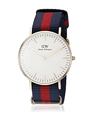 Daniel Wellington Reloj con movimiento cuarzo japonés Man Classic Oxford Eggshell 40 mm