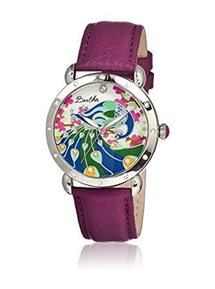 Bertha Uhr mit Japanischem Quarzuhrwerk Didi violett 41 mm