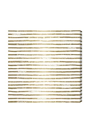 Oliver Gal 'I See Stripes!' Canvas Art