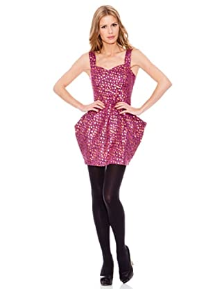 Rare Vestido Leopardo (Rosa)