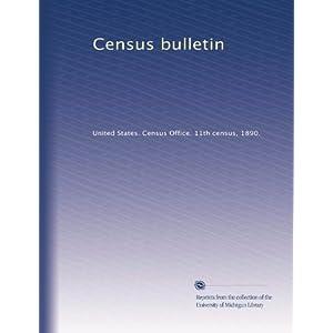 【クリックでお店のこの商品のページへ】Census bulletin (Vol.128) [ペーパーバック]