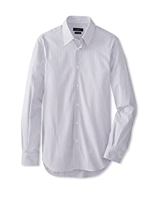 Calvin Klein Collection Men's Martina Slim Fit Dress Shirt (Telegrey)