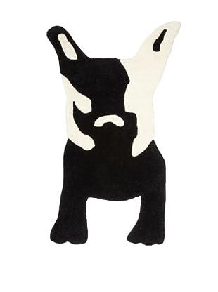 Twinkle Living Milan's Imaginary Friend Rug, Black/White, 32