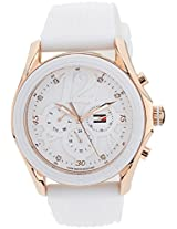 Tommy Hilfiger Chronograph White Dial Women's Watch - TH1780967J