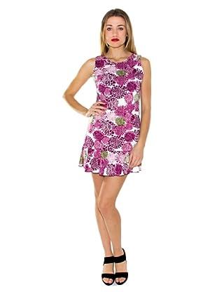 Purple Jam Kleid (weiß/fuchsia)