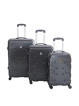 Geographical Norway Set de 3 trolleys rígidos Sardaigne