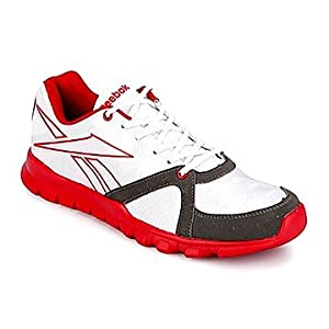 Reebok Transit White And Red Men Sports Shoes
