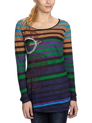 Desigual Camiseta 28T2600 (Azul)