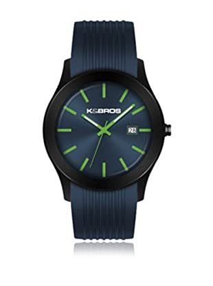 K&BROS Reloj 9489 (Azul)