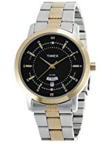 Timex Classics Analog Black Dial Men's Watch - G911