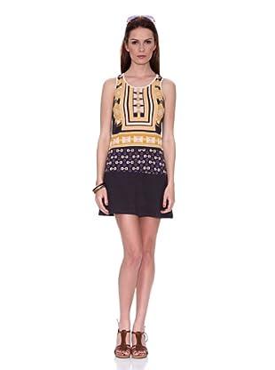 HHG Vestido Willa (Amarillo / Negro)