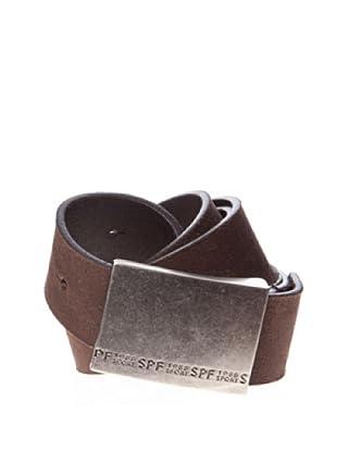 Springfield Cinturón Cinturones Piel (marrón oscuro)