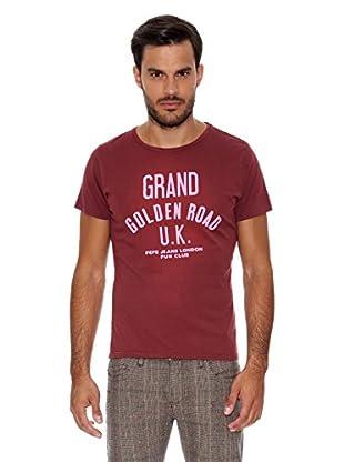 Pepe Jeans London Camiseta Pattaya (Burdeos)