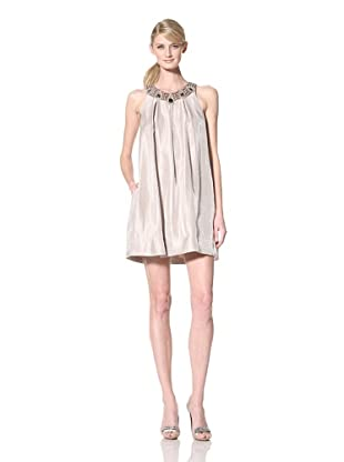 Alexia Admor Women's Trapeze Dress with Pockets (Taupe)