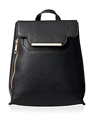 POVERTY FLATS by rian Women's Metal Bar Backpack, Black