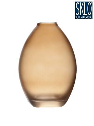 Cristal de Bohemia Florero Tao H 20.5 Cm Violaceo