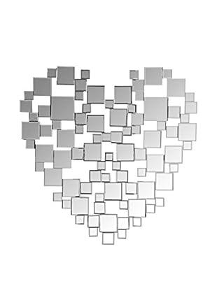 ESPECIAL SAN VALENTIN Espejo de Pared Heart