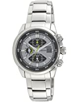 Citizen Eco-Drive Analog White Dial Men's Watch - CA0130-58A