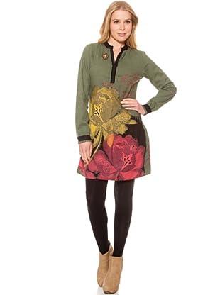 SideCar Kleid Design (Grün)