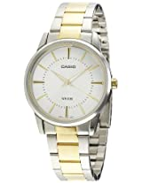 Casio Enticer Analog White Dial Men's Watch - MTP-1303SG-7AVDF (A498)
