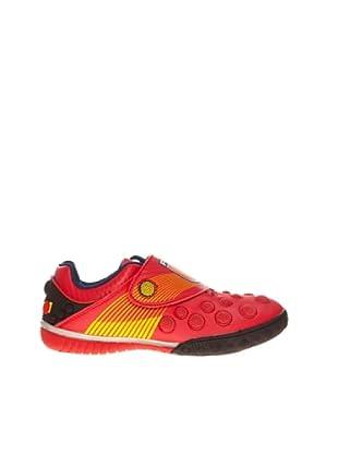 Sneaker Klettverschluss (Rot)