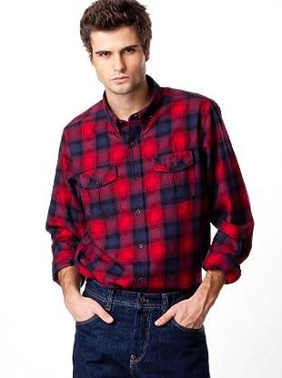 Timberland Camisa Cuadros (Rojo / Azul Marino)