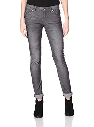 Stitch's Women's Fox Skinny Corduroy Pants (Deep Grey)
