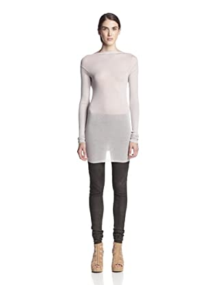 Rick Owens Women's Backless Sweater (Pearl)