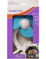 Dreambaby Stroller Fan White With Blue Foam