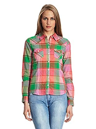 Wrangler Camisa Casual Daisy Western