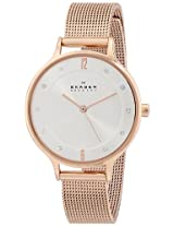 Skagen Anita Analog Silver Dial Women's Watch - SKW2151