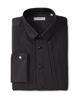 Without Prejudice Men's Tuxedo Shirt (Black)