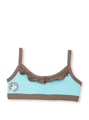 Les UltraViolettes Girl's Melusine Brassiere Swim Top (Turquoise)