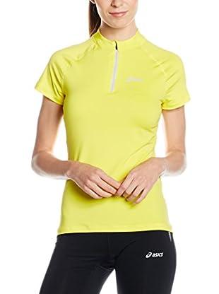 Asics T-Shirt Manica Corta Mile Ss 1/2 Zip