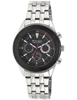 Titan Octane Chronograph Black Dial Men's Watch - NE9324KM01J