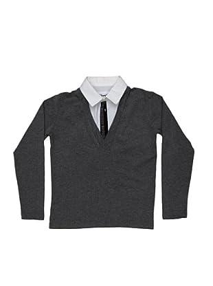 BIKKEMBERGS Camiseta Kids (gris)