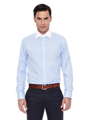 Pedro del Hierro Camisa Non Iron Falso Liso (Azul)