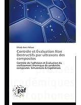 Controle Et Evaluation Non Destructifs Par Ultrasons Des Composites