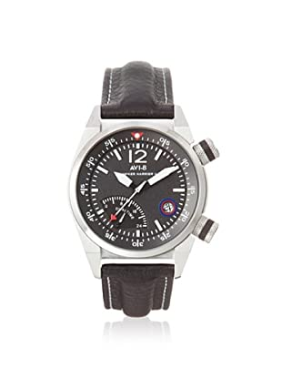 AVI-8 Men's AV-4004-02 Hawker Harrier II Black Stainless Steel Watch