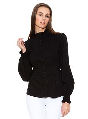 Mango Camisa Super-A (Negro)